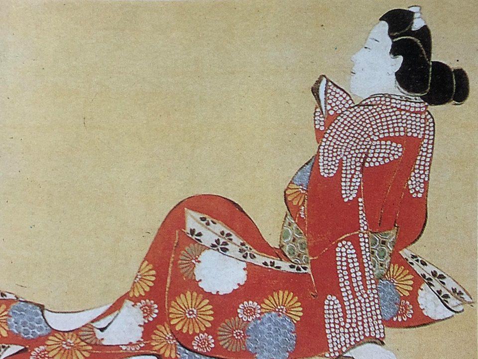 ศิลปวัฒนธรรม แฟชั่นสตรี ในสมัยเอโดะ